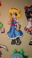 Touhou Character 13 - Alice Margatroid by MagicPearls