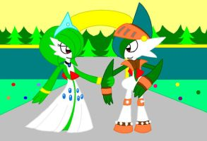 Lady Gardevoir and Sir Gallade