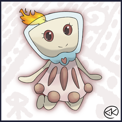 Glislet, The Candle Pokemon by KY-PHA