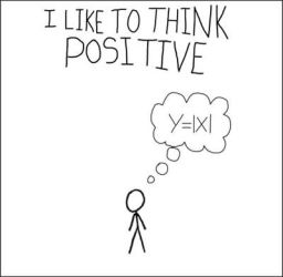 XKCD Tribute: Think Positive by technonerd0110