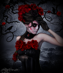 Red as the Rose by Kristenolejarnik