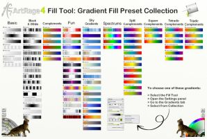 ArtRage 4 Gradient Fill Collection by ArtRageTeam