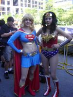 Fan Expo 2010: DC Heroines by NaruHinaFanatic