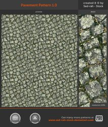 Pavement Pattern 1.0 by Sed-rah-Stock