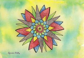 Simple Mandala by LorraineKelly