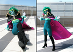 Steven Universe Emerald cosplay by UnicaGem