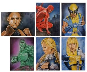Guardians of the Galaxy Vol.2 sketch cards1 by shelbysnake