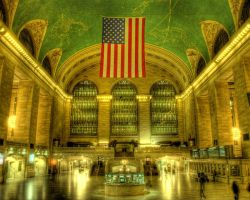 Grand Central Station in NYC by spudart