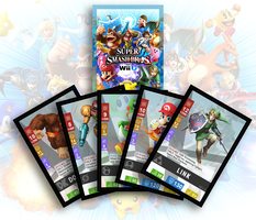 Super Smash Bros Wii U Cardgame by FoxClaw64