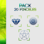 Pack 20 brushes by iLovemeright
