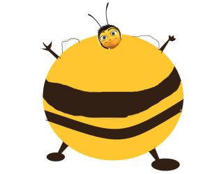 Barry Bee Benson Inflated by krappykinx