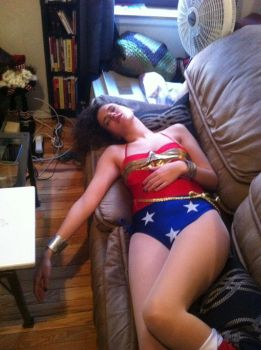 Wonder Mera out again by Game-Over-Girls