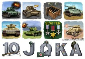 WW2 Tanks by amircea