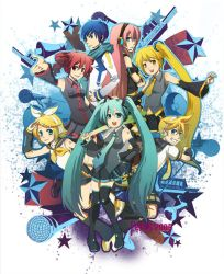 Vocaloid Explosion by ferus