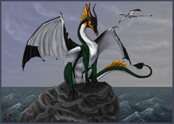 Frisian Penguin Dragon by Tacimur