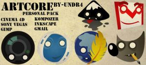 Artcore Personal Pack by UNDR4
