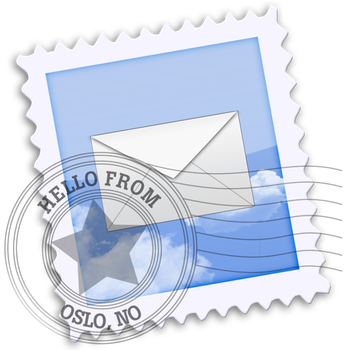 Mac OS X Mail icon by sleazy-kay