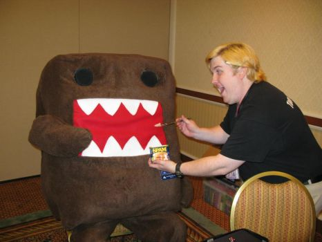 DOMO HUNGRY by sporkoon