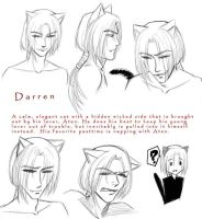 Darren - Expression Sheet by arai-chuusei