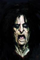 Alice Cooper by mozggies