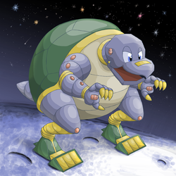 Mecha Turtle by Vellidragon