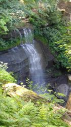Buttermilk Falls by lizliadis