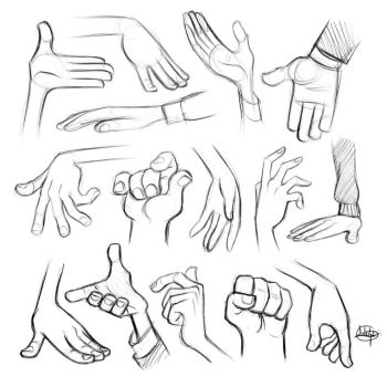 Procreate Hand Sketches by LuigiL