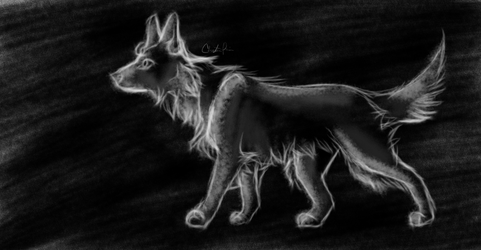 Digital Charcoal by onestarmarcher