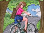 The Bicycle Ride by JimmyDrawsArt