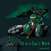All in a Day's Work by kevlar51