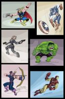 Avengers Series by Stnk13