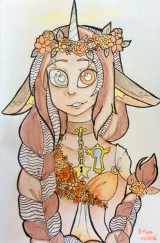 [Art Payment]: Autumn Darling by SimplyDefault