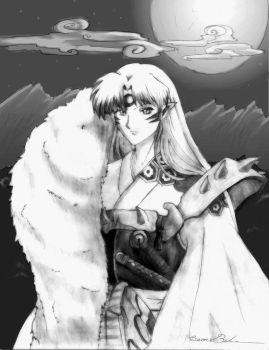 Sesshomaru by shiyen119