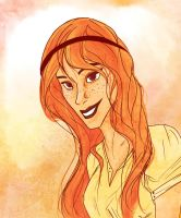 the weasley girl by laugiancoli