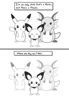 Selphy, the little Pichu (Pg. 2) by selphy6