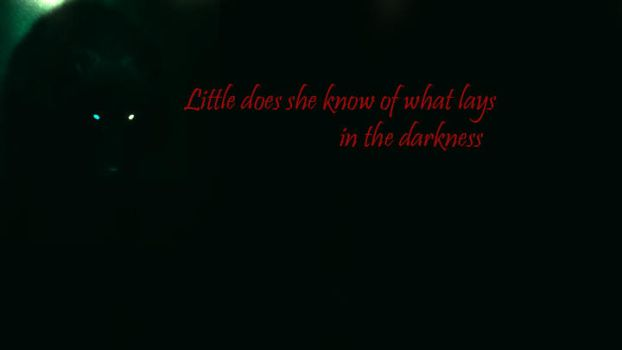 Wolf:Little does she know cover by SaphySnuffy