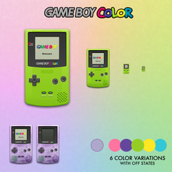 Game Boy Color by Heliogon