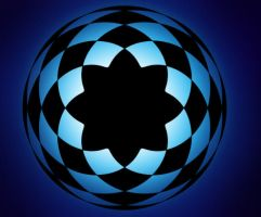 Blue Spirograph 2 by Lily-the-pink