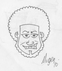 Fro-Man by Mugey
