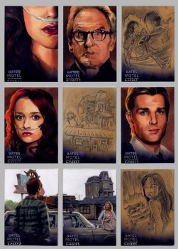 Bates Motel Sketch Cards #2 by Kapow2003