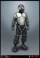 SYNDICATE concept - Grunt soldier by torvenius