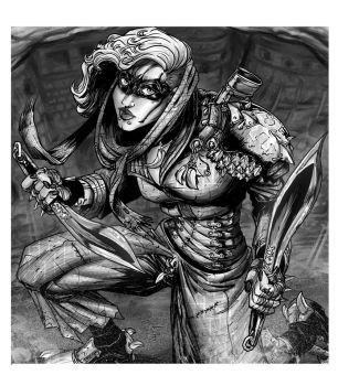 RPG Character: Duel Wild Warrior by WEXAL