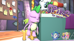 [DL]Spike The Dragon by BeardedDoomGuy