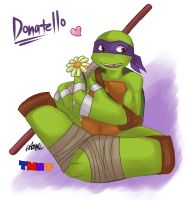 TMNT 2012: Donatello by athena-i