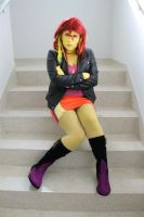 Sunset Shimmer Cosplay by RobinYume