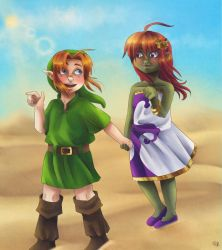 Charlie and Valaria by Coco-of-the-Forest