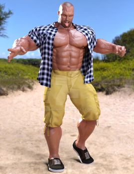 Modern Clothed Hercules 3 by SimonWM
