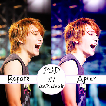 Donghae PSD by itak-iteuk