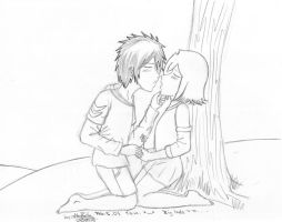 I wanna know what a kiss is... by Ashayami