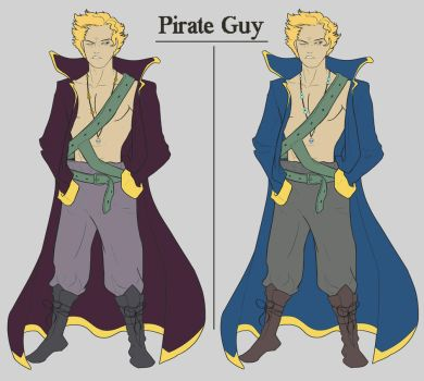 Pirate Guy by DC-Girl
